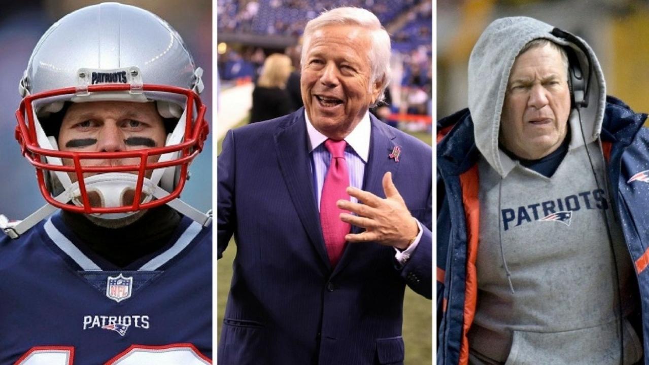 New England Patriots deny alleged rift between Belichick, Brady and Kraft