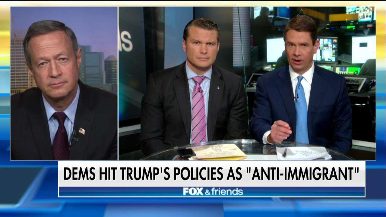 Martin O'Malley on Trump Border Wall