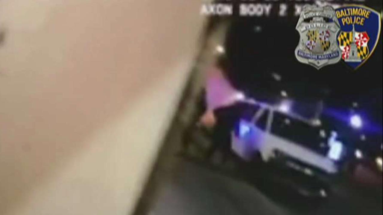 Intense shootout caught on Baltimore police bodycam