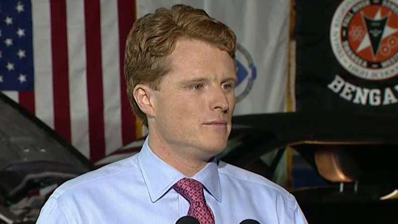 Rep. Joe Kennedy delivers the Democratic response to SOTU