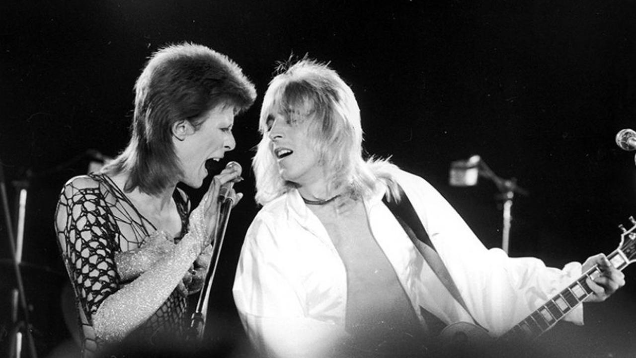 David Bowie struggled to tell story of guitarist Mick Ronson