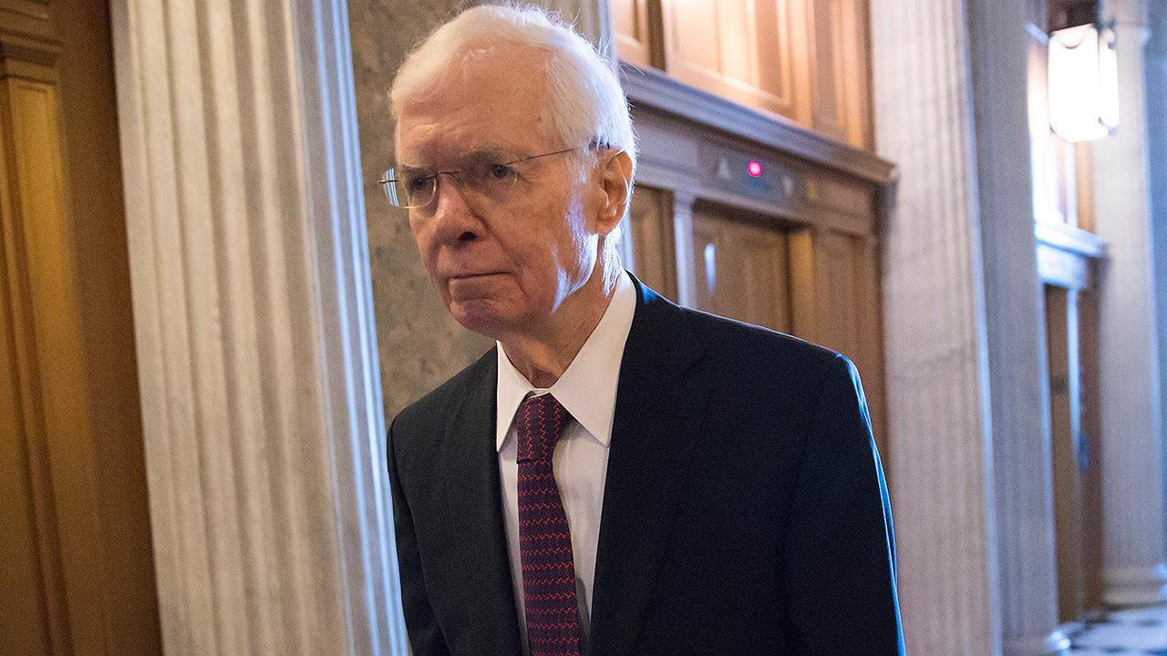 Republican Thad Cochran is resigning from the Senate