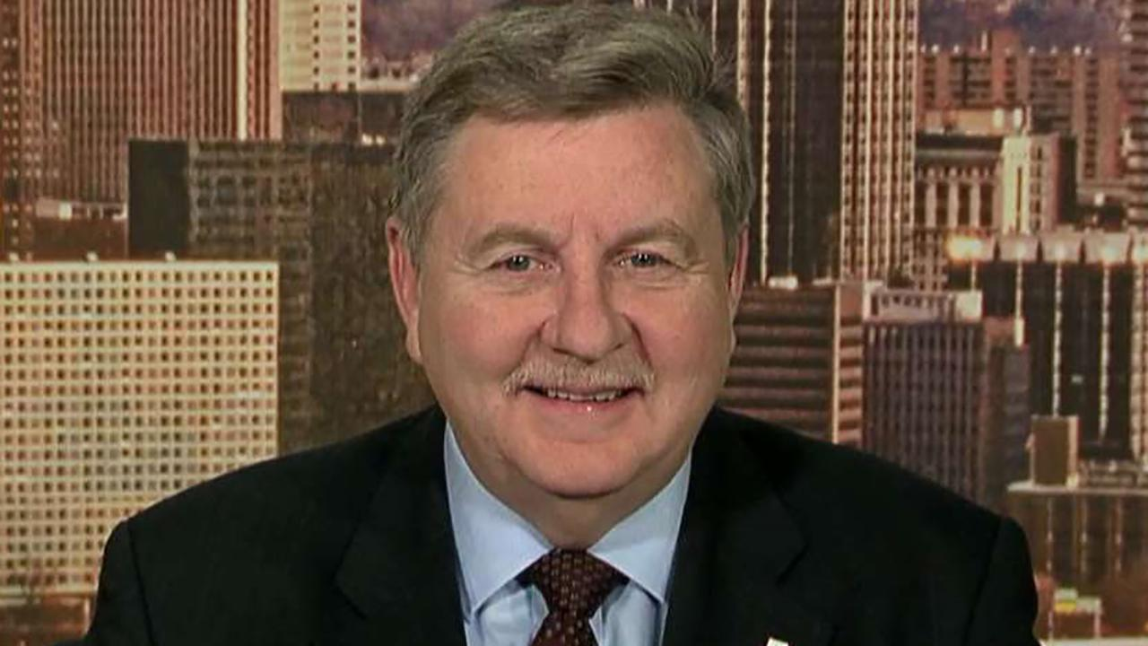 Republican congressional candidate Rick Saccone on potential impact of President Trump's steel and aluminum tariffs on Pennsylvania special election.