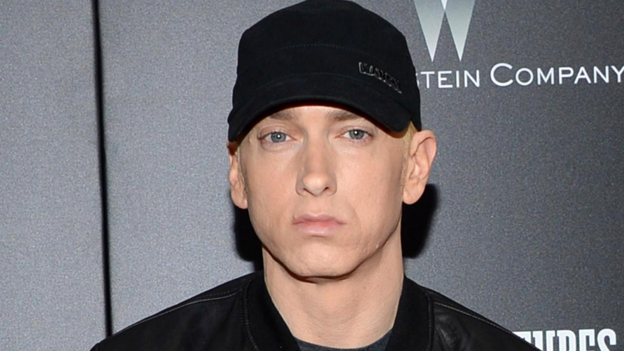 Westlake Legal Group 694940094001_5749824523001_5749820683001-vs Eminem's music video depicts him as Las Vegas mass shooter, encourages fans to vote for gun laws Tyler McCarthy fox-news/entertainment/music fox-news/entertainment/genres/viral fox-news/entertainment/genres/political fox-news/entertainment/celebrity-news fox-news/entertainment fox news fnc/entertainment fnc e2a01596-1bad-58f5-bcb1-037bb3b1b483 article