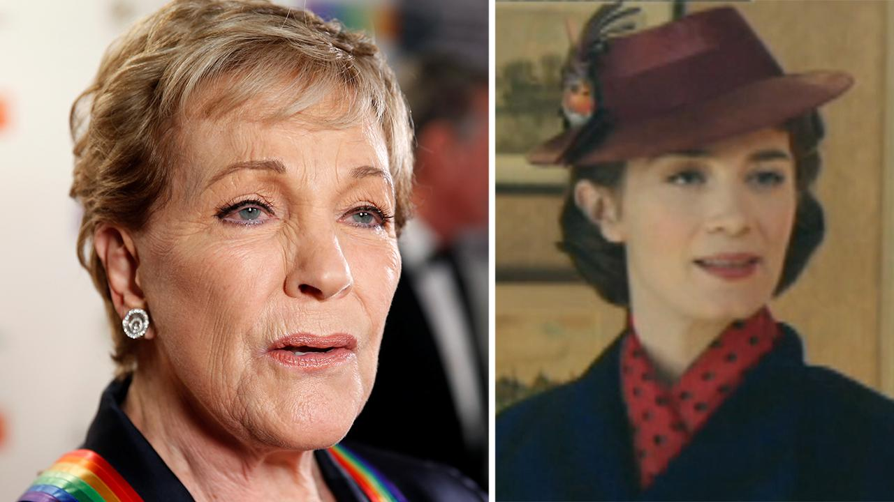 Julie Andrews weighs in on Emily Blunt as Mary Poppins