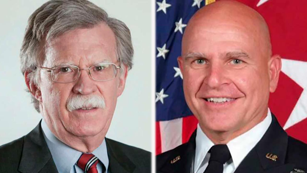 Amb. Bolton to replace McMaster as national security adviser