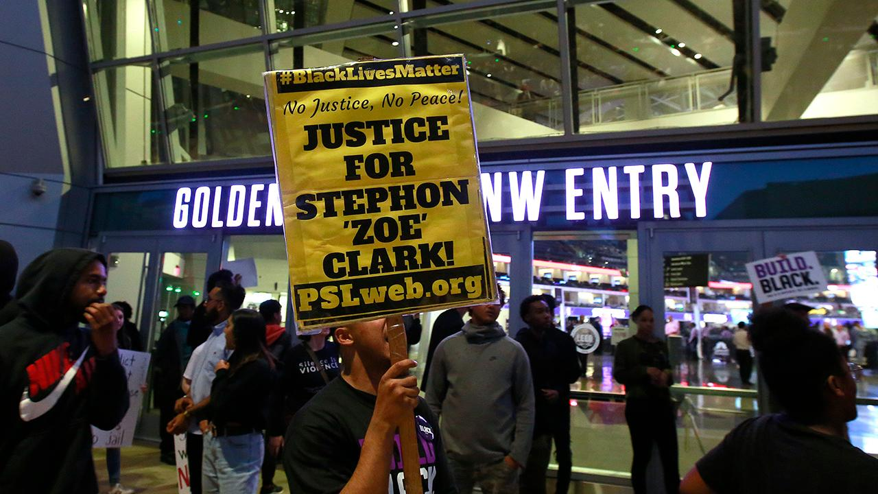 Sacramento protests continue after funeral for Stephon Clark