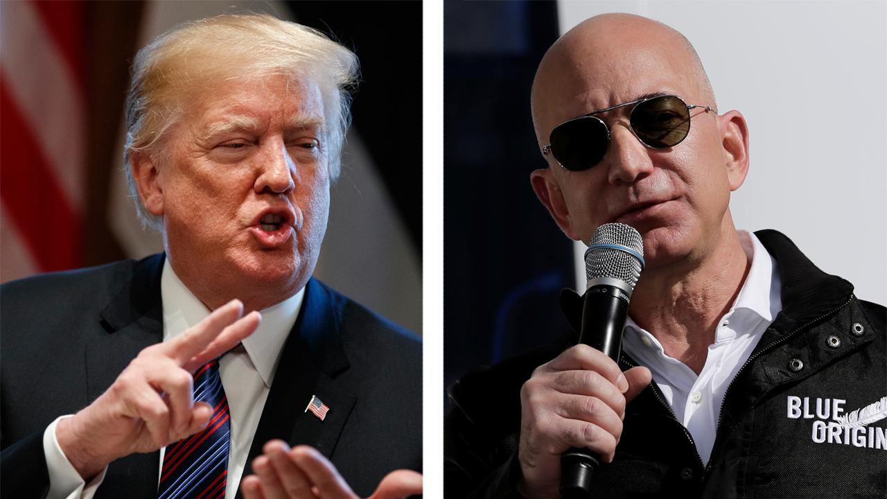 Amazon wants to depose Trump in challenge over...