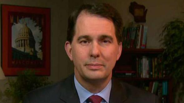 Is Scott Walker's winning streak nearing an end? Wisconsin race poses challenge