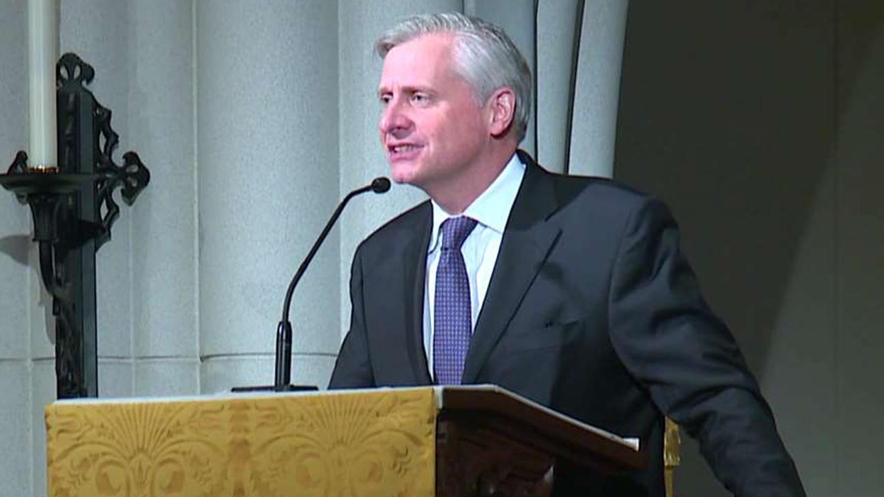 Historian Jon Meacham delivers eulogy for Barbara Bush