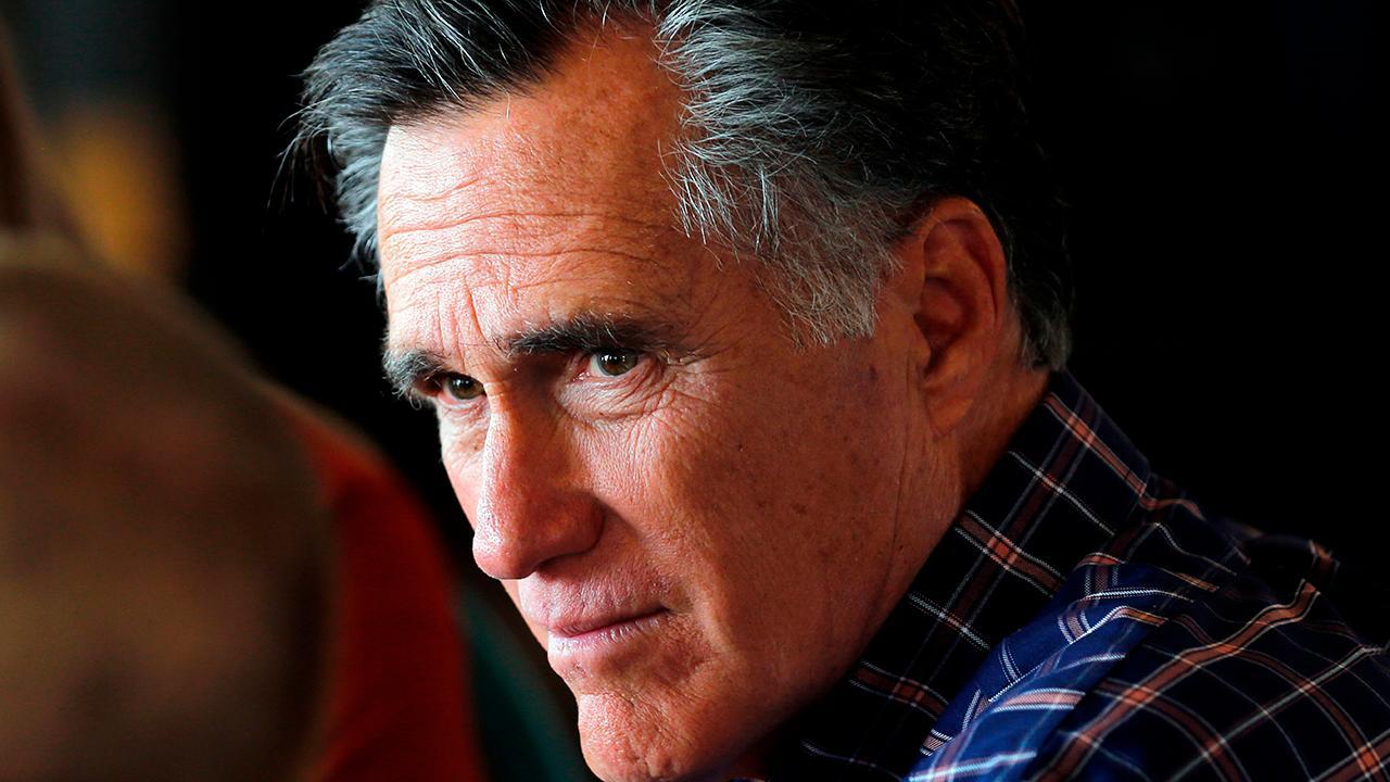 Mitt Romney on Trump 2020: I'll decide down the road