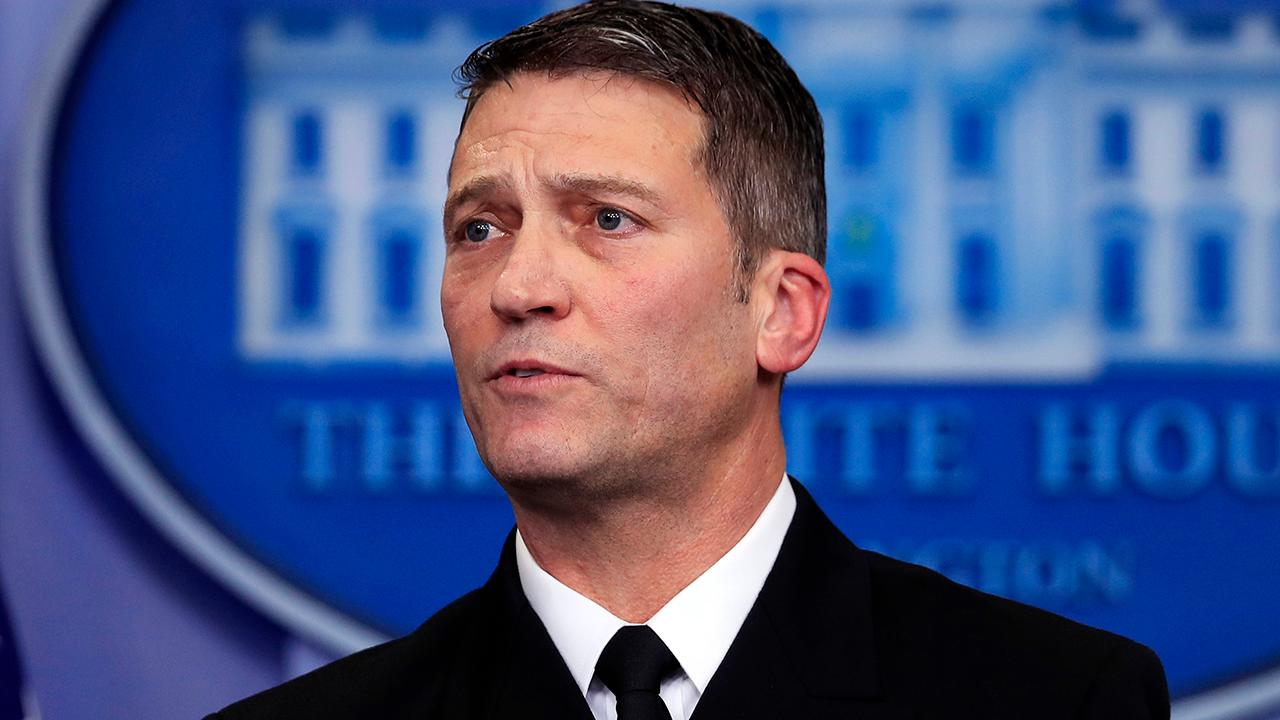 Dr. Ronny Jackson withdraws nomination for VA Secretary