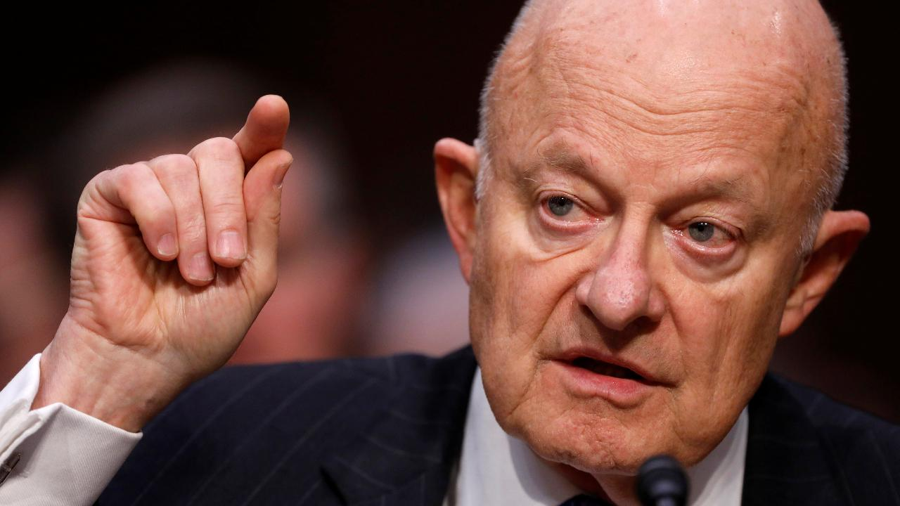 Westlake Legal Group 694940094001_5778504883001_5778506040001-vs 'Impeccable integrity': Clapper intervened to lavish McCabe with praise in bid to save him at FBI Washington Examiner Jerry Dunleavy fox-news/politics/justice-department fnc/politics fnc article 01d13916-a132-5d3a-8012-361ddffb75d5