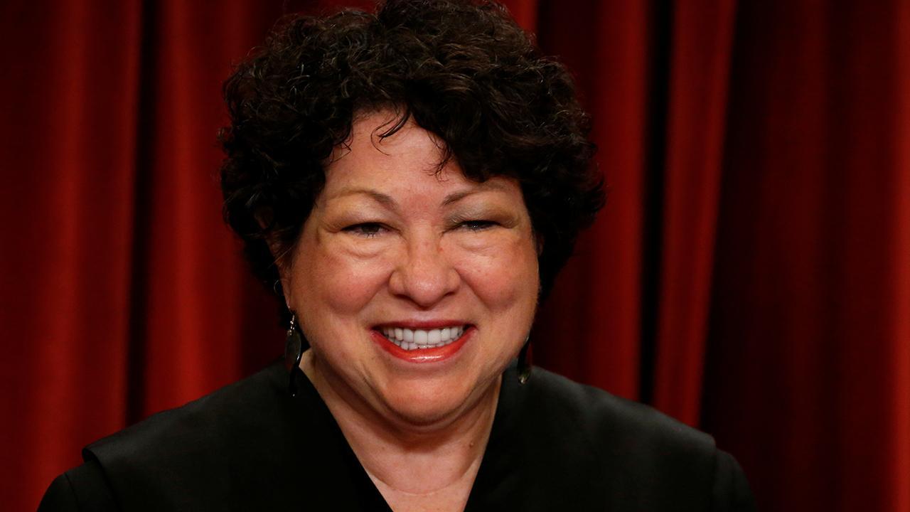 Sotomayor Fragen Blasenbildung Dissens, sagt der republikanisch-festgesetzte Richter haben Neigung zu Trump Verwaltung