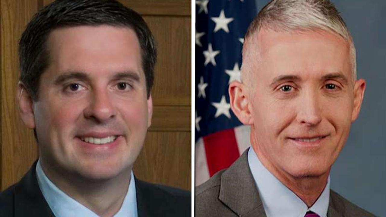 Nunes, Gowdy accuse DOJ of launching anonymous attacks on congressional investigator
