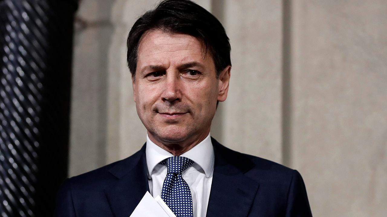 Giuseppe Conte appointed Italian prime minister