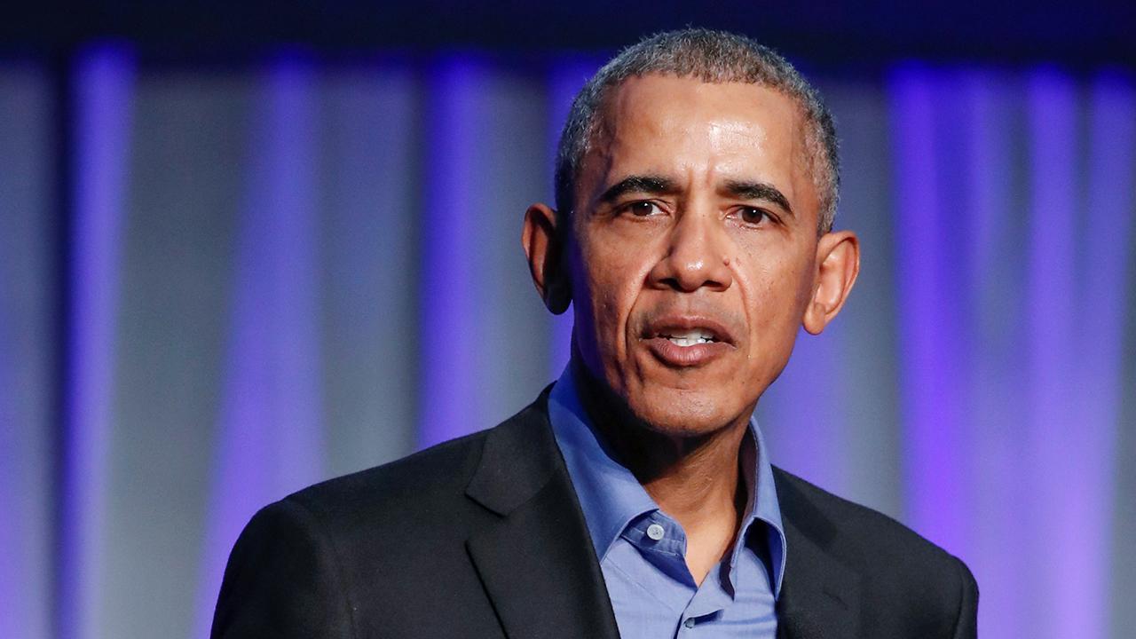 Obama uses Netflix to heal political divide.