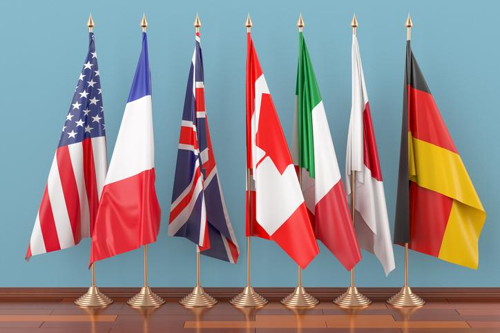 Where is the 44th G7 Summit being held and why are so many of the members frustrated with the United States?