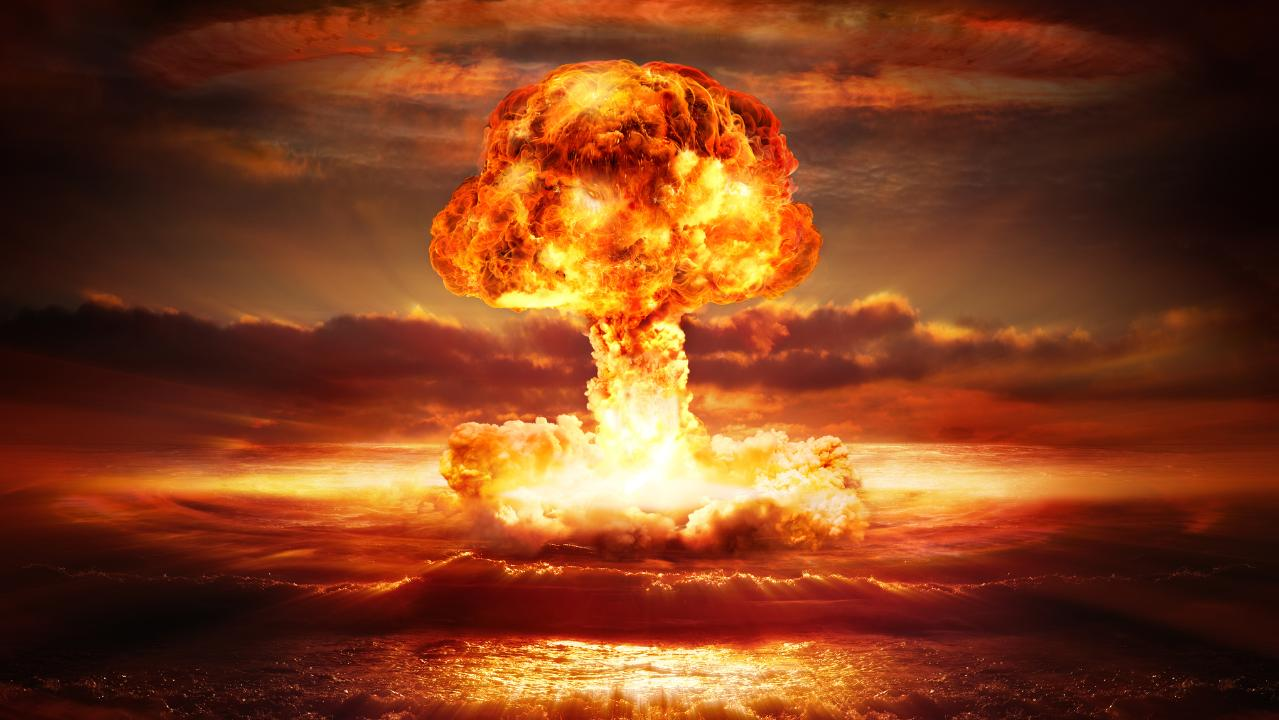 100 nuclear weapons could destroy life