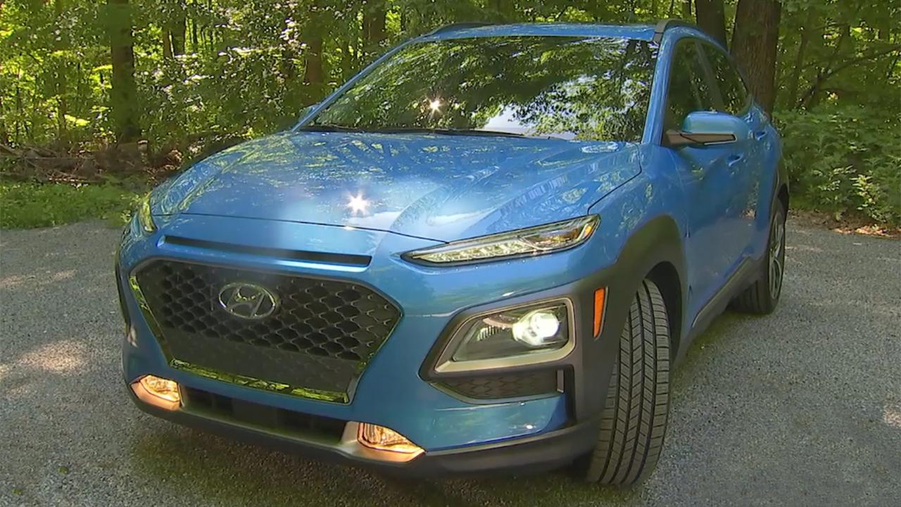 The 2018 Hyundai Kona is better because it's late