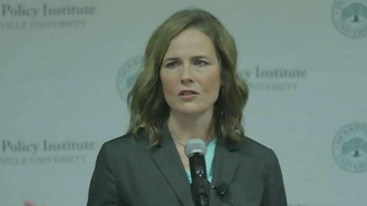 Media target Judge Amy Barrett's faith