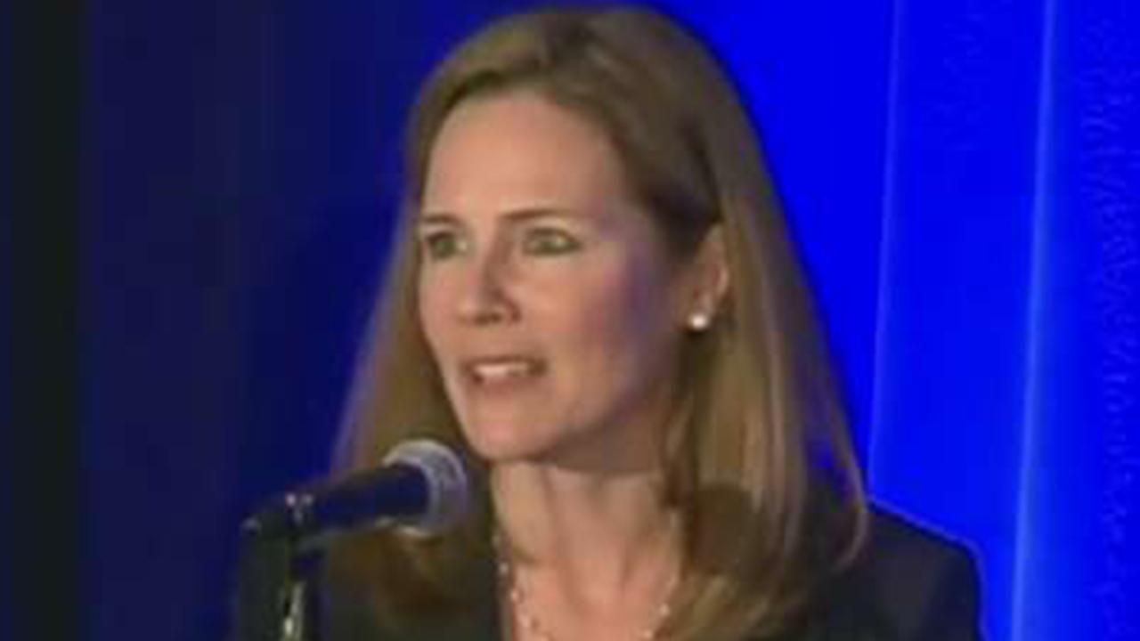Democrats target SCOTUS candidate Amy Coney Barrett