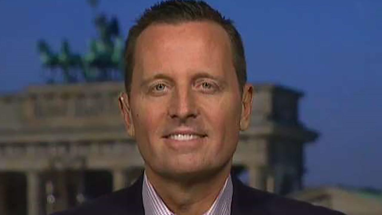 Ambassador to Germany Ric Grenell joins 'Sunday Morning Futures' to discuss President Trump's upcoming summits with NATO and President Putin, tariff threats and more.
