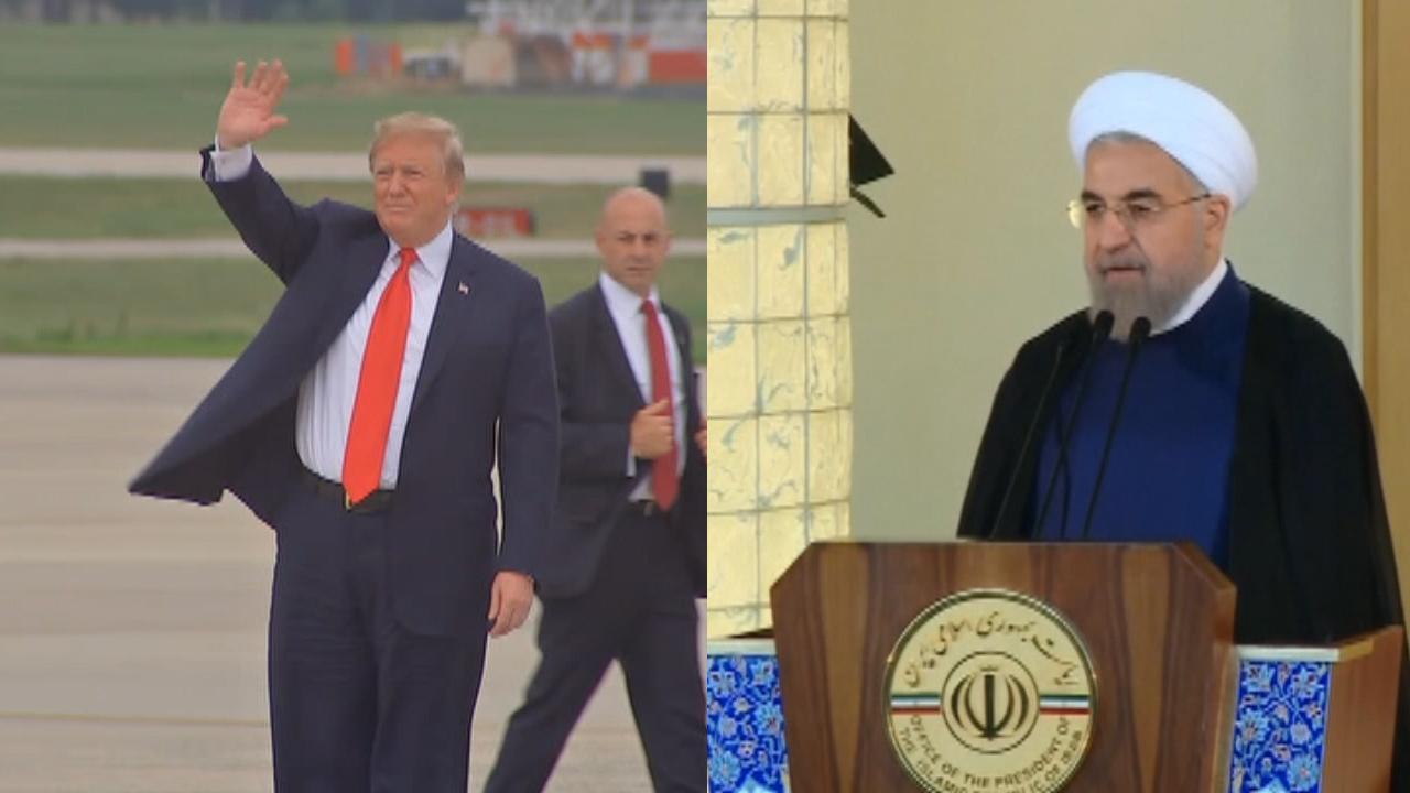 دونالد ترامپ، صدای تهدید کننده را به حسن روحانی ایران متهم کرد