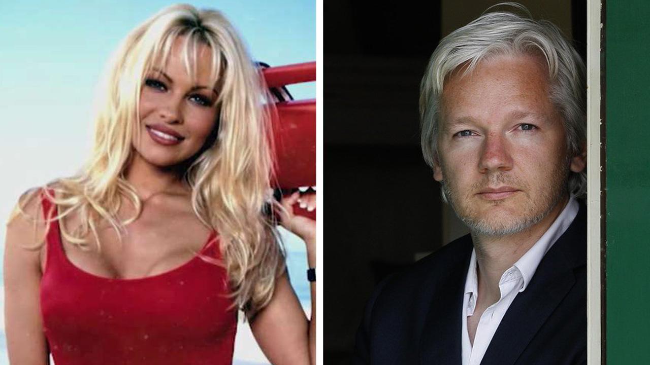 Pamela Anderson on her relationship with Julian Assange
