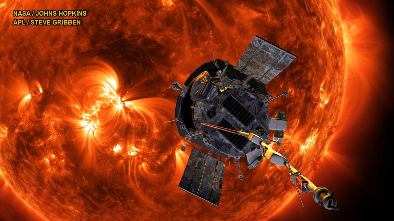 NASA's Parker Solar Probe set to 'touch a Sun'