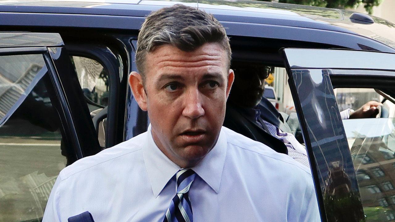 Rep. Duncan Hunter pleads not guilty at arraignment