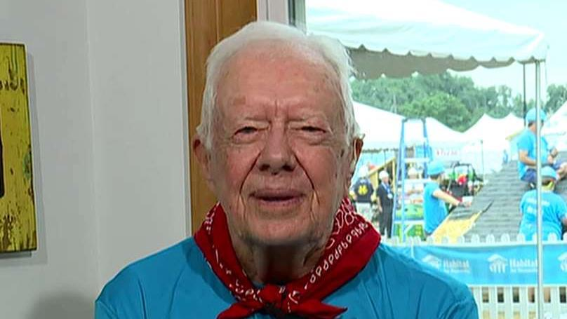 President Carter: Country is more polarized than ever before