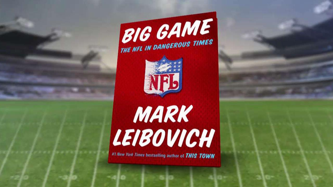 Recent NFL turbulence chronicled in new book