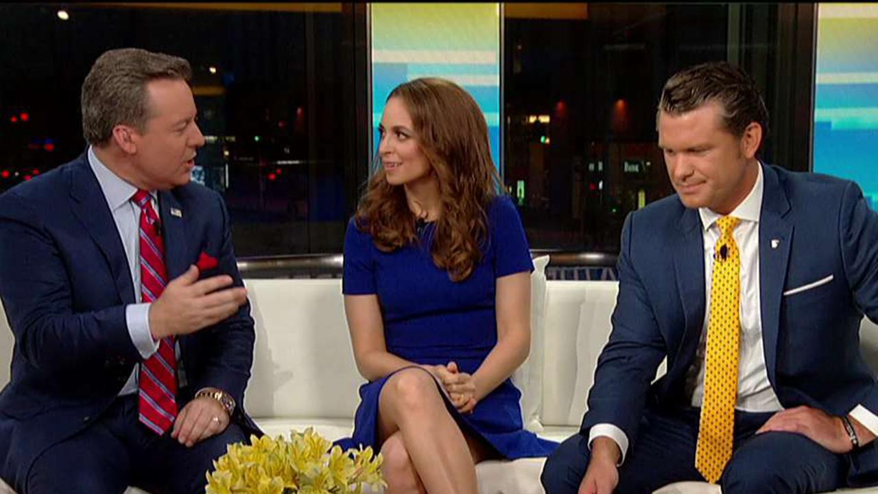 Fox & Friends' welcomes Jedediah Bila to the curvy couch