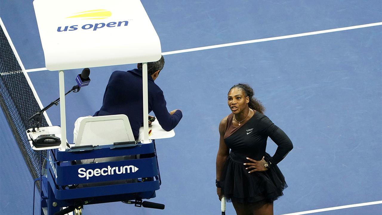 Serena whacked for tennis blowup against an umpire during a match against Naomi Osaka in the 2018 US Open Final