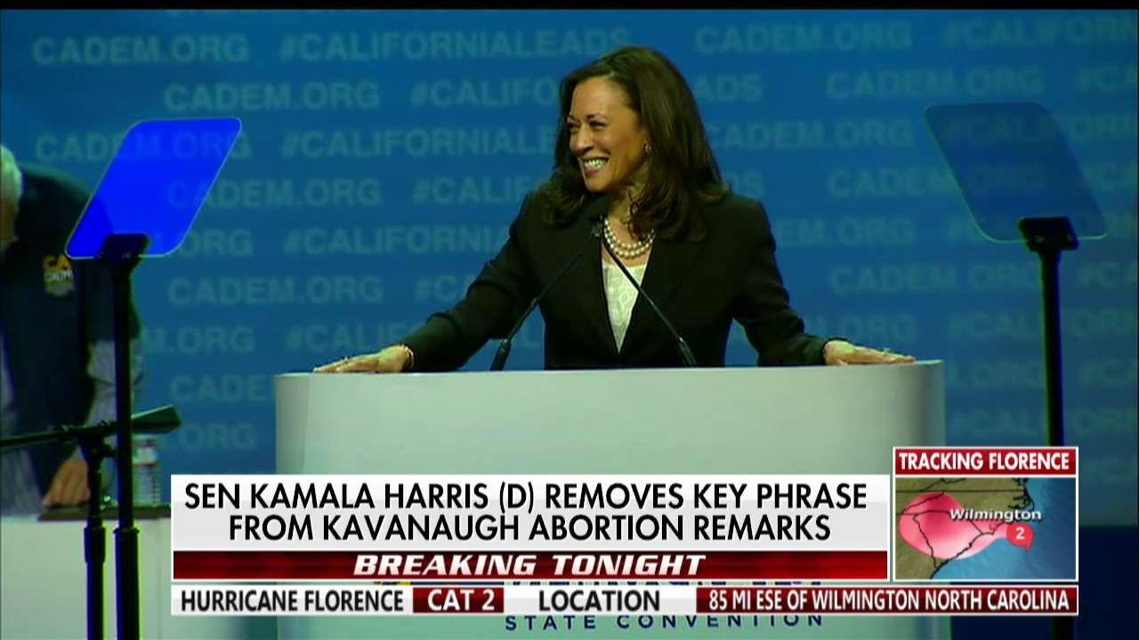Benson Calls Out Harris, Clinton for 'Debunked Smear' of Kavanaugh