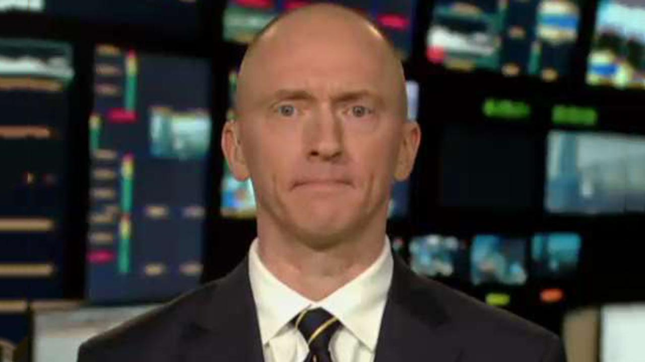 Carter Page reacts to Trump FISA document release