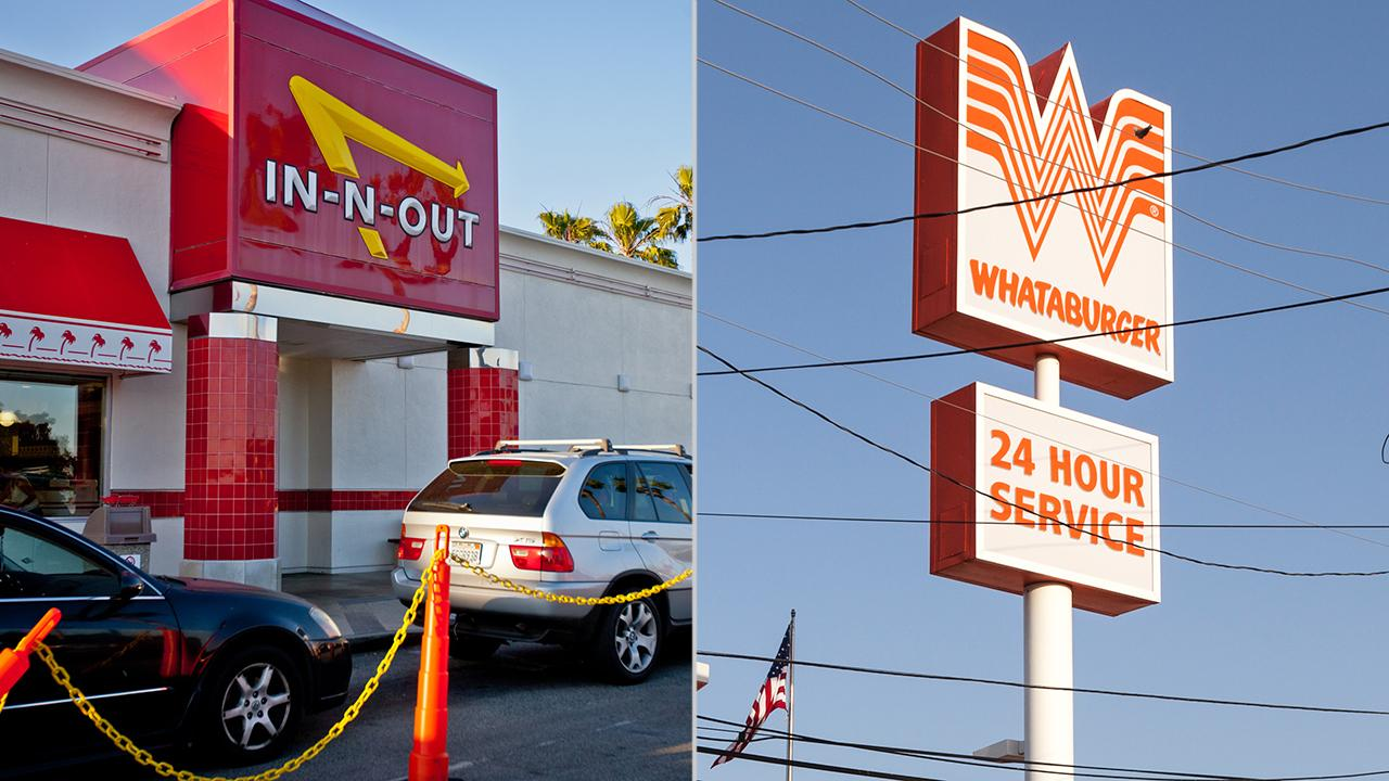 Texans revolt after In-N-Out named as their favorite burger joint
