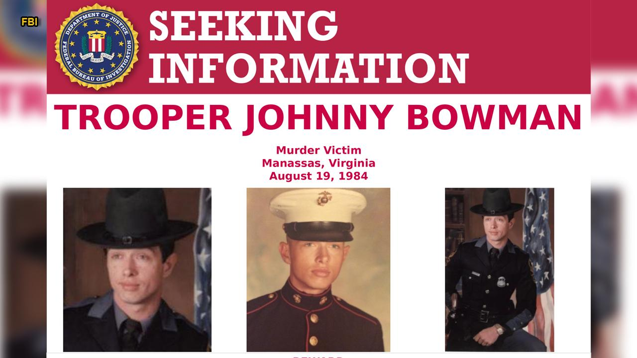 Reward offered in cold case death of Virginia State Trooper