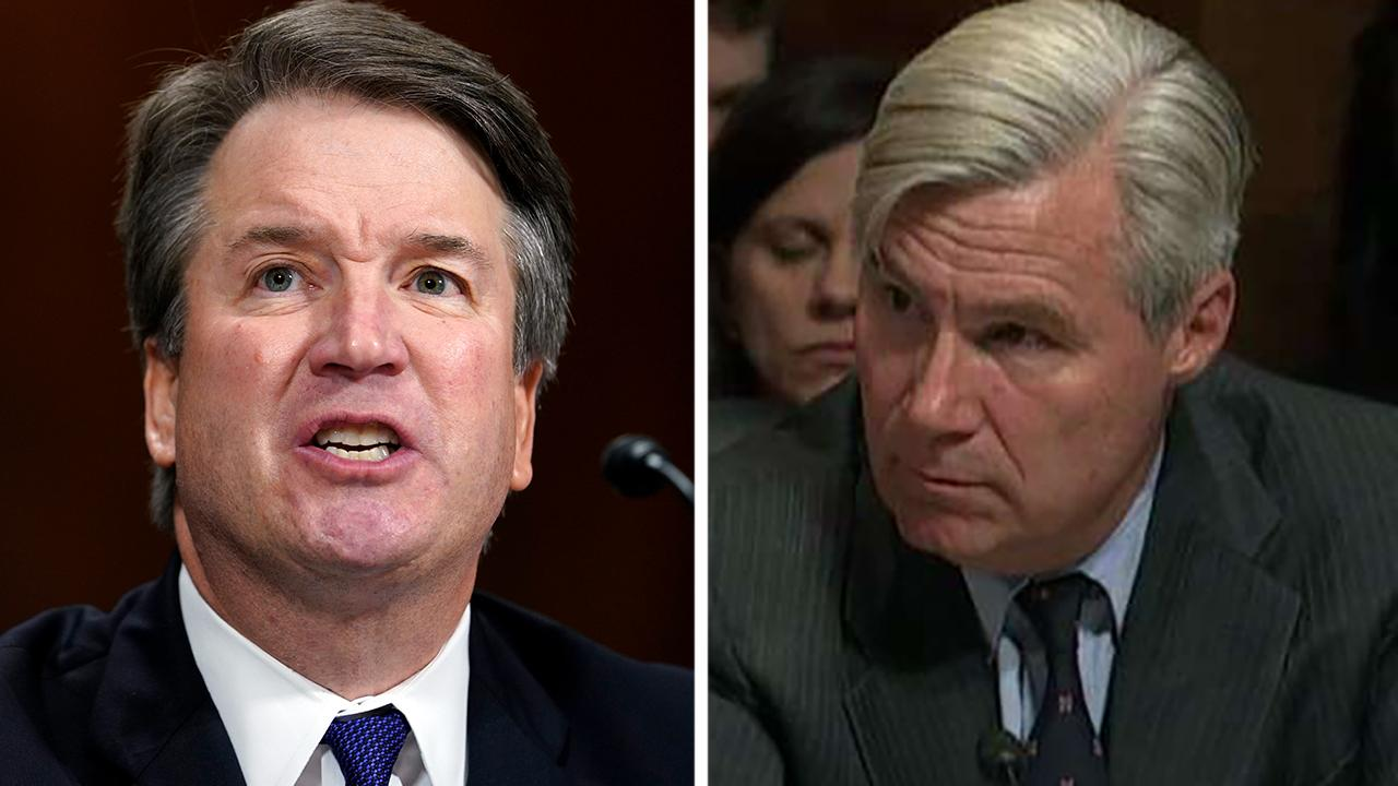 Sen. Whitehouse questions Kavanaugh about his yearbook page