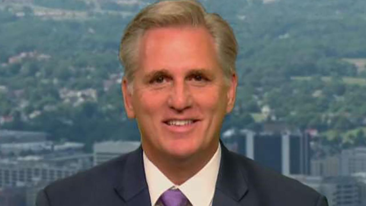 Rep. Kevin McCarthy reacts to Kavanaugh hearings and discusses campaigning to keep House GOP majority on 'Sunday Morning Futures.'