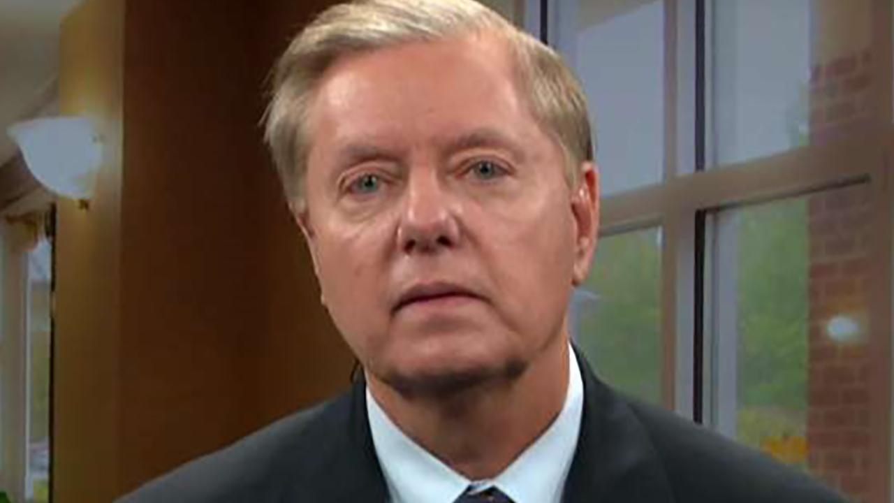 Lindsey Graham explains his outrage over Kavanaugh hearing