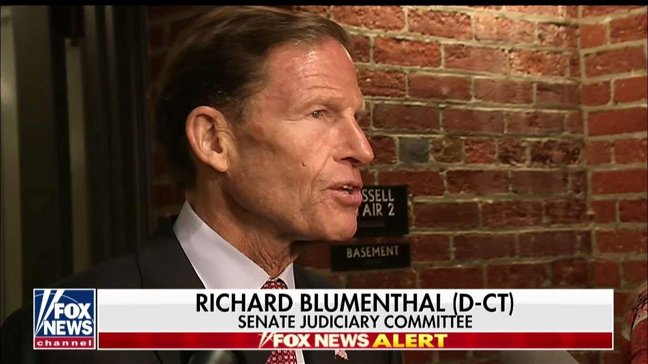 Kavanaugh clash reopens stolen valor allegations against Sen. Blumenthal