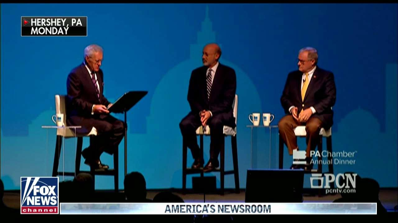 Alex Trebek Moderates PA Debate