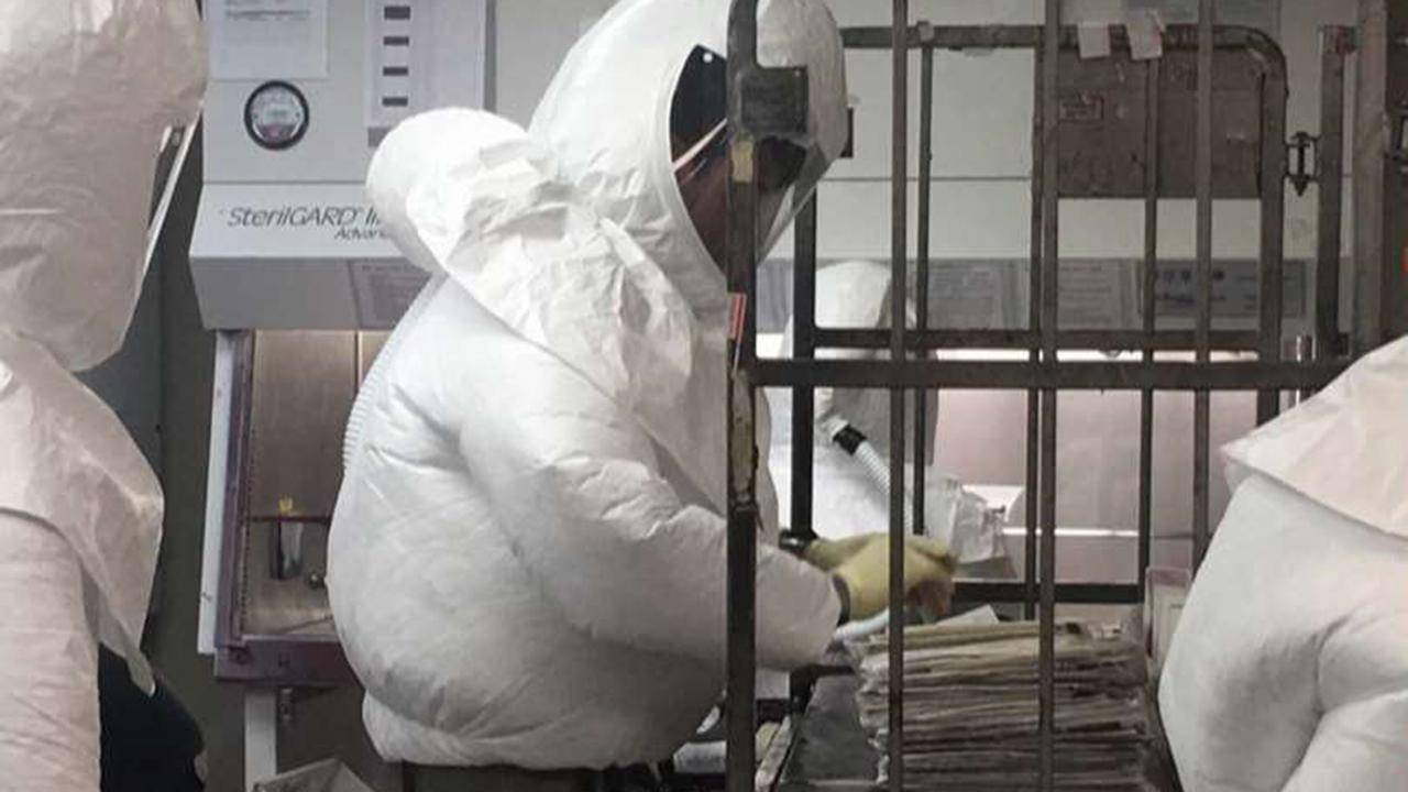 Probe under way into ricin letters sent to Pentagon