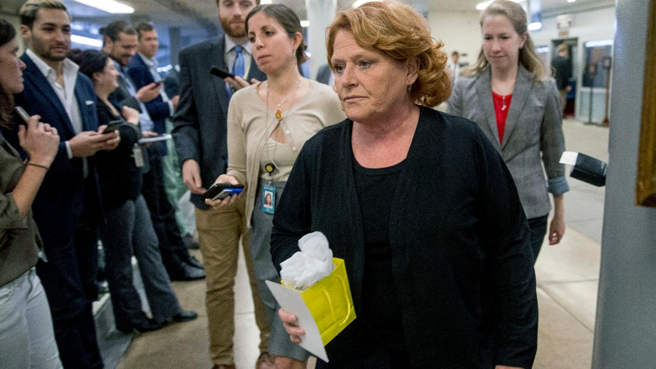 Sen. Heidi Heitkamp will vote against Brett Kavanaugh