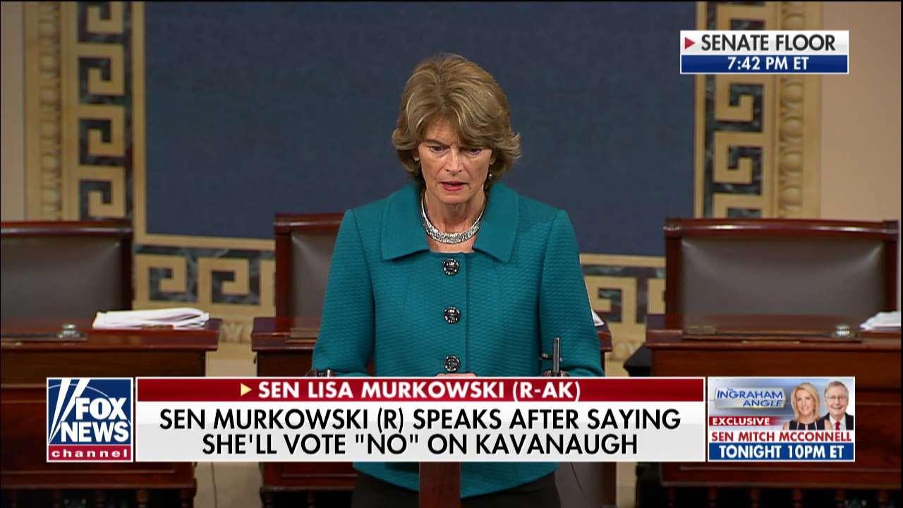 Lisa Murkowski Explains No Vote on Kavanaugh