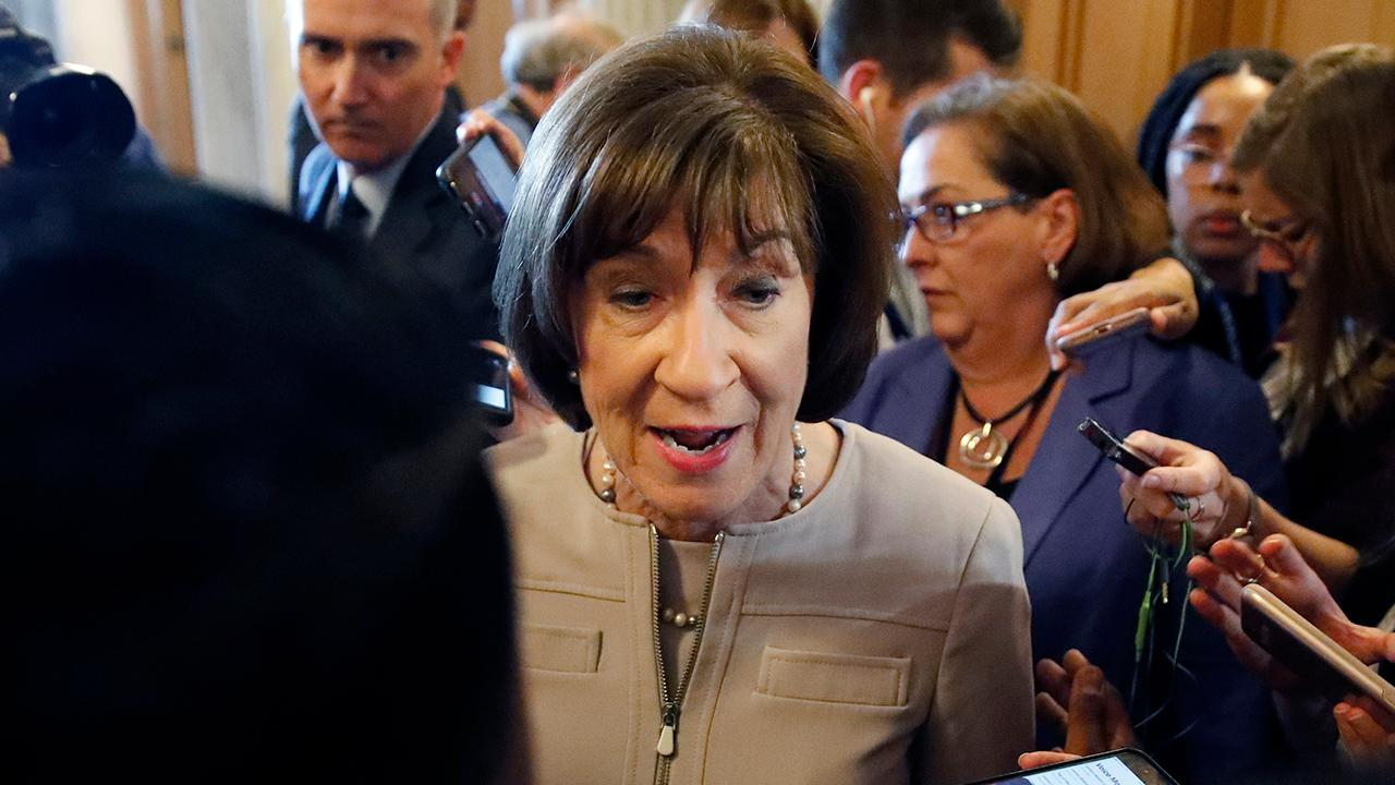 Threatening letter with alleged 'ricin' sent to Sen. Susan Collins' Maine home