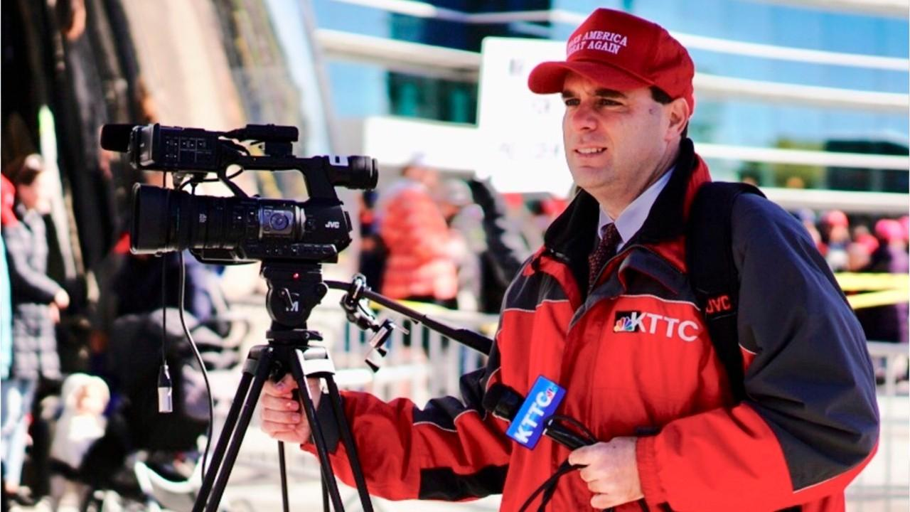NBC reporter fired for wearing MAGA hat while covering rally