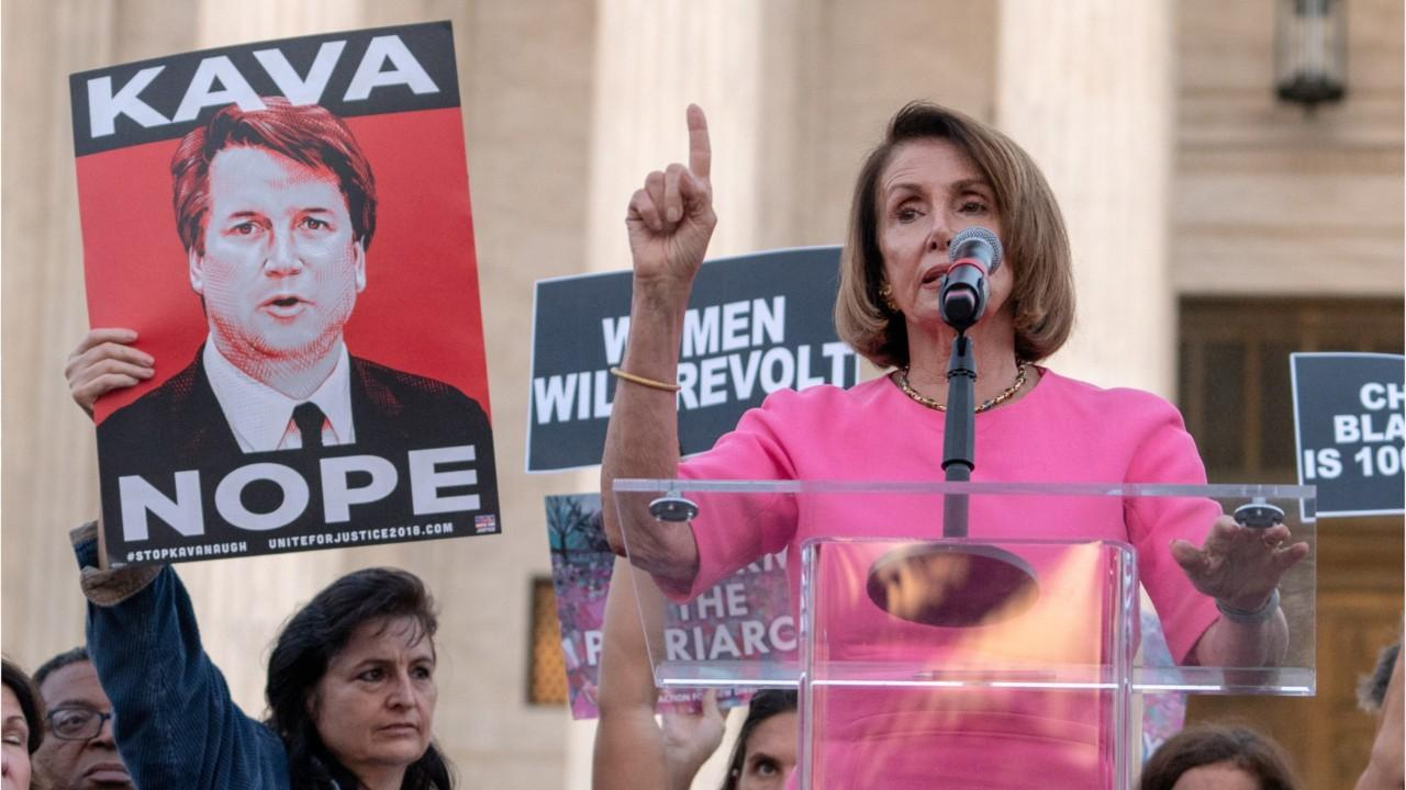 Pelosi seeks FBI docs after Kavanaugh confirmation